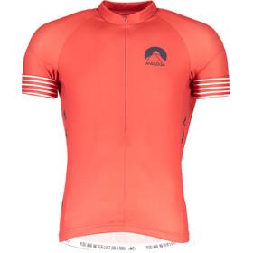 09d055542 Maloja LagalbM. Short Sleeve Bike Jersey Men maple leaf